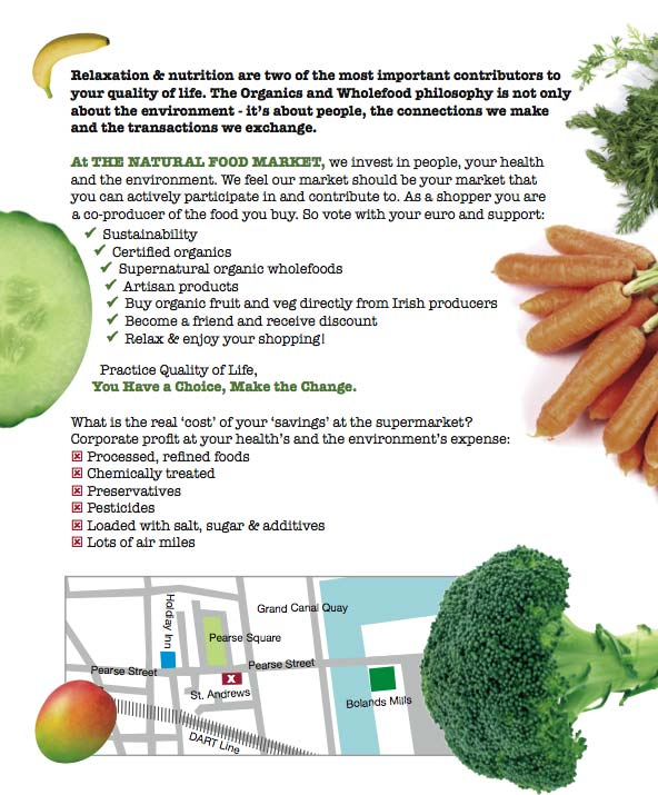 Benefits - Organic Food in Dublin: