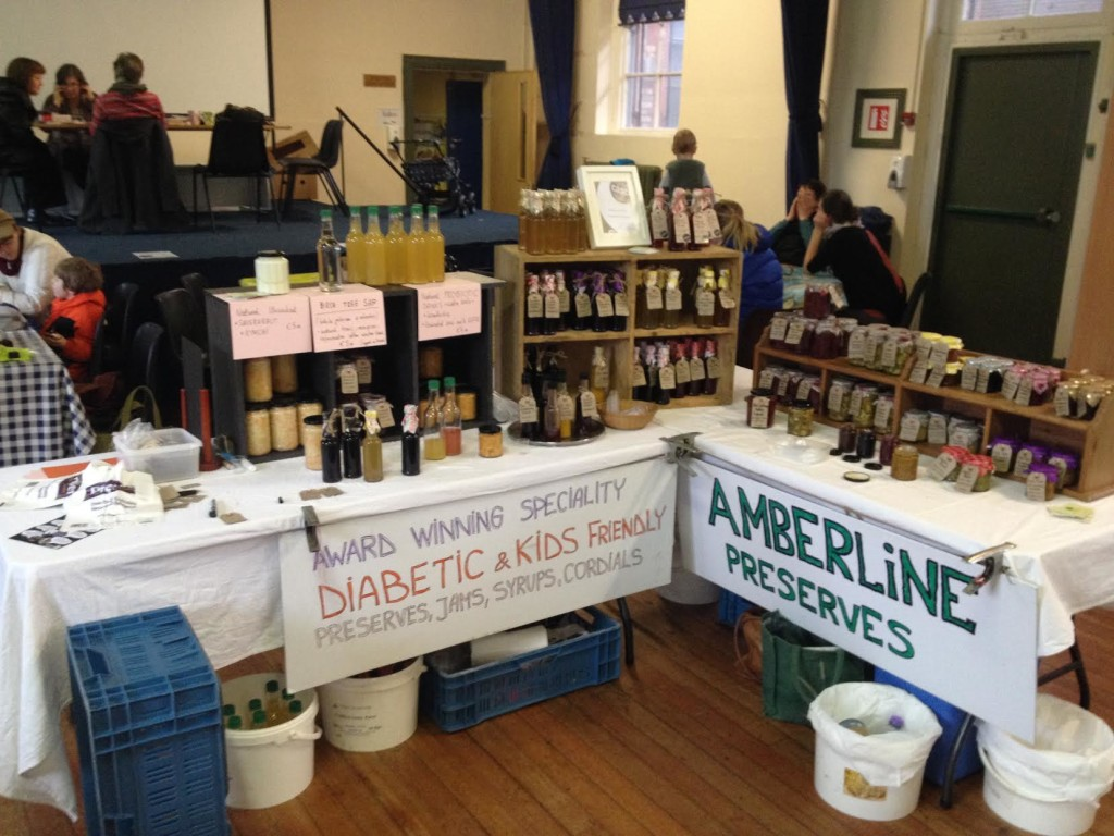 The Amberline Wild Foods Stall at The SuperNatural Food Market Dublin
