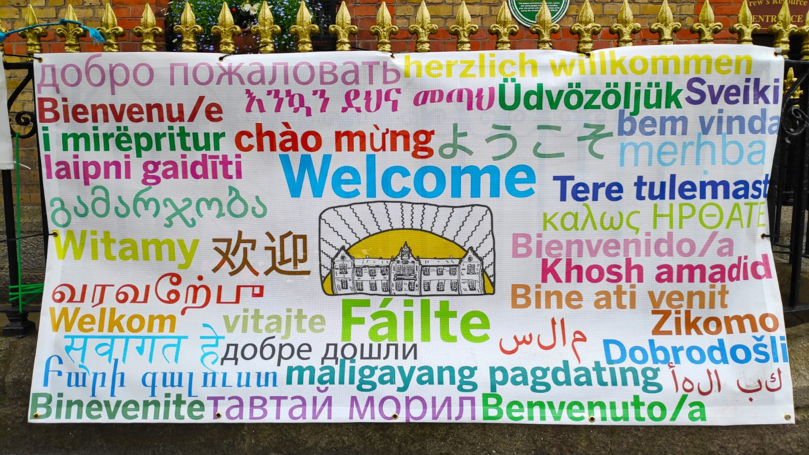 Welcome-in-all-languages-to-all-at-our-market-in-St-Andrew's-Reource-centre-pearse-st-dublin-city